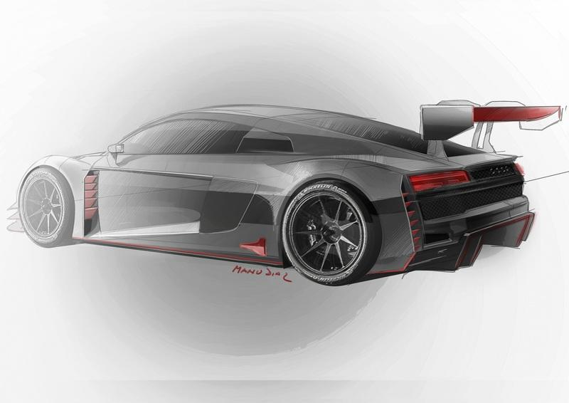 This New Audi R8 LMS GT3 Serves as a Preview for the 2020 Audi R8 Road Car