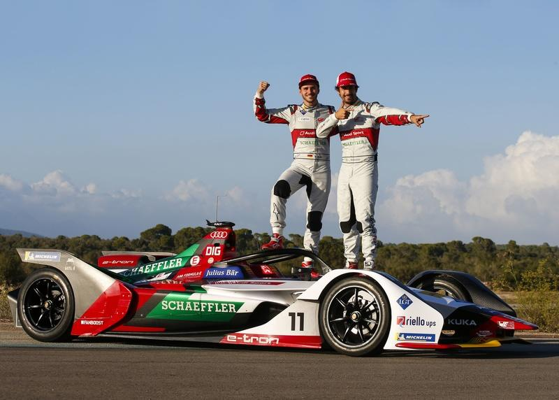 Audi Reveals E-Tron FE05, Preps for Upcoming Formula E Season