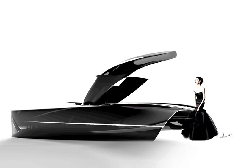 Bentley and the RCA Team Up to Sketch the Future of Elegant Motoring