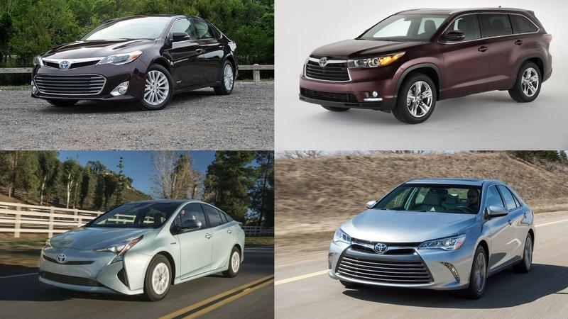 Best Used Hybrids from 2016