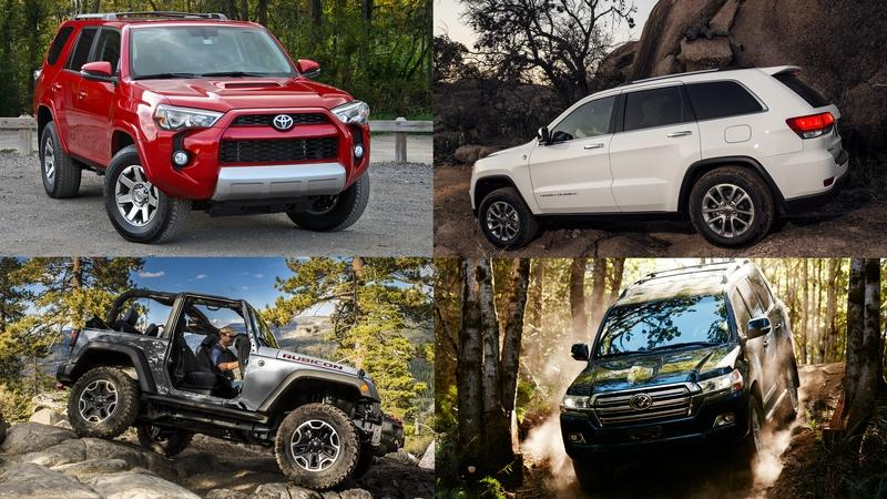 Best Used Off-Road SUVs 2016