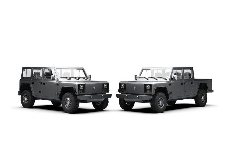 Bollinger shows off B2 all-electric pickup truck - image 799641
