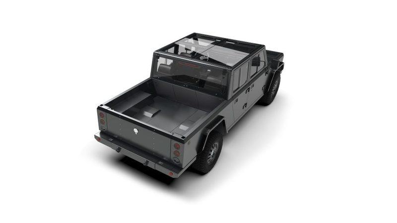 Bollinger shows off B2 all-electric pickup truck - image 799639