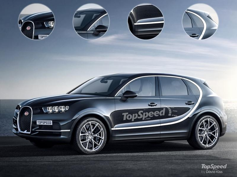 2022 Bugatti SUV Exterior Computer Renderings and Photoshop Exclusive Renderings - image 801775