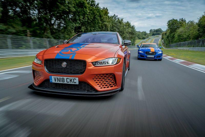 Burn off $226 in About 8 Minutes While You Ride Shotgun Around the Nurburgring in the Jaguar XE SV Project 8