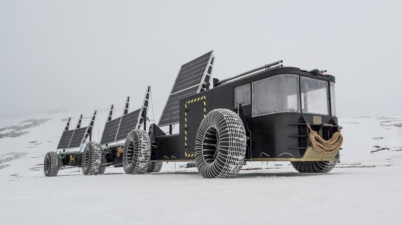 Check Out This 3D-Printed, Solar-Powered EV Set to Conquer Antarctica