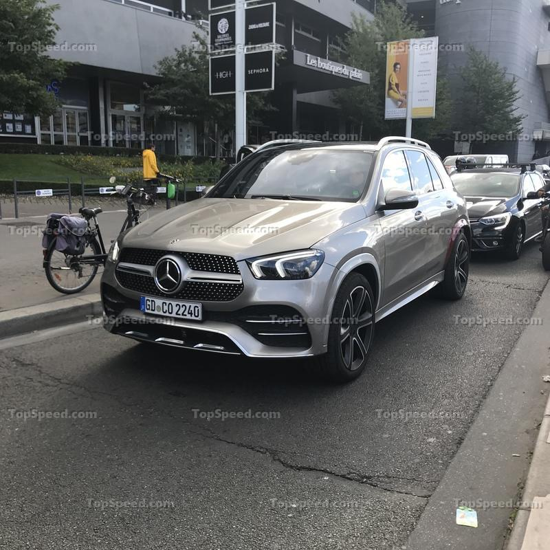 Exclusive: We Caught the 2019 Mercedes GLE in the Wild for the First Time Without Camo