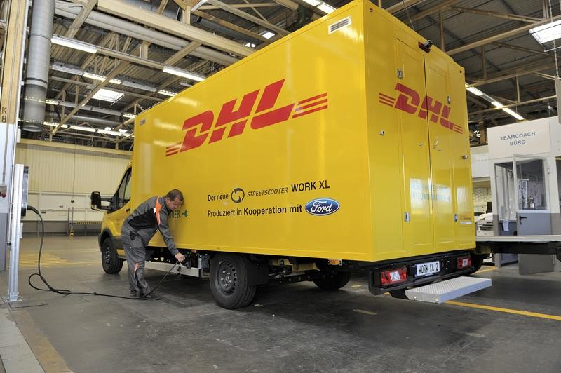 Ford Begins Production of Electric StreetScooters for DHL