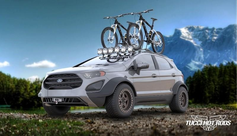 2018 Ford EcoSport Big Adventures by Tucci Designs