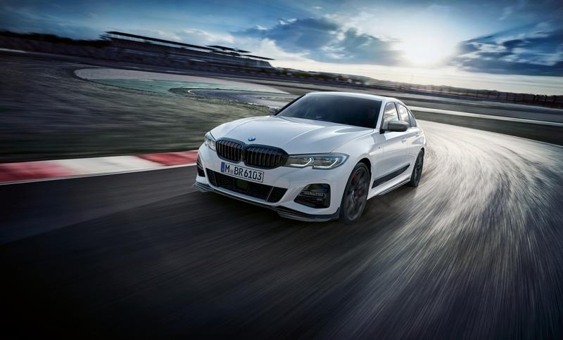 Fresh Batch of M Performance Parts Unveiled for 2019 BMW 3 Series