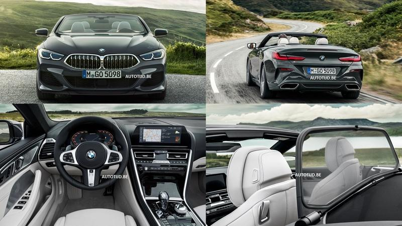 Here's the 2019 BMW 8 Series Convertible Before You're Supposed to See It