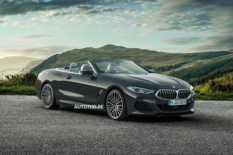 Here's the 2019 BMW 8 Series Convertible Before You're Supposed to See It Exterior - image 802837