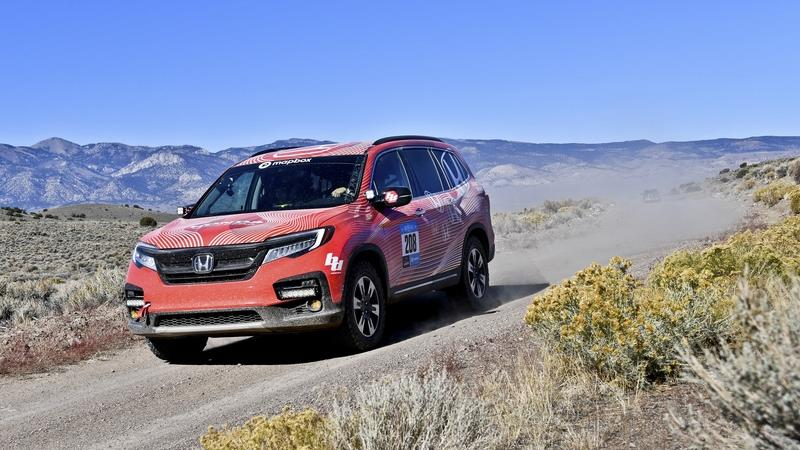 2018 Honda Pilot Rebelle Rally