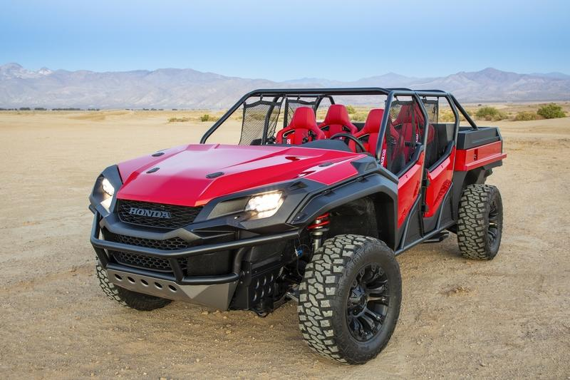 2018 Honda Rugged Open Air Vehicle Concept