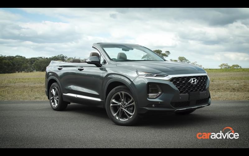 The Hyundai Santa Fe Cabrio Is Real, But Not for Production