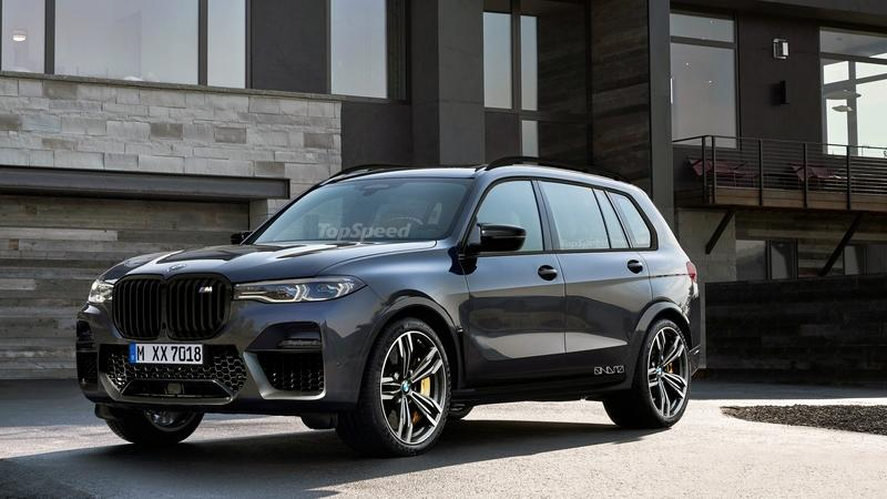 If BMW Aims to Take on the Mercedes-AMG GLS 63 with an X7 M This is What It Will Look Like