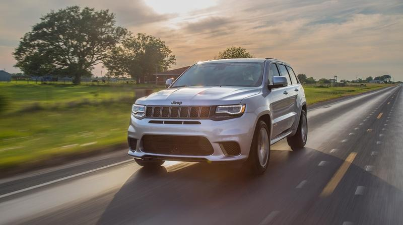 2018 Jeep Grand Cherokee Trackhawk by Hennessey