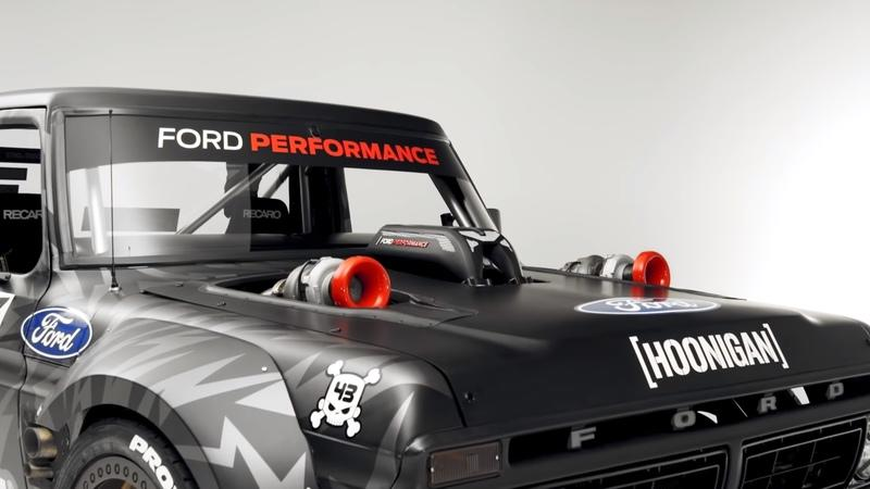 Ken Block's New AWD F-150-Based Hoonitruck Is Ford GT Crazy