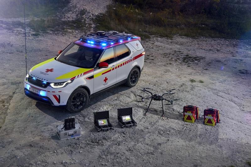 2018 Land Rover Red Cross Discovery Emergency Response Vehicle