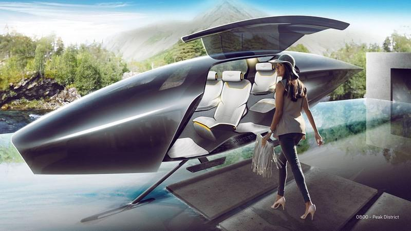 London's Top Design Students Showcase The Bentley of 2050 - image 801452
