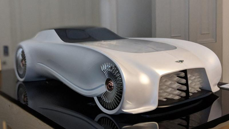 London's Top Design Students Showcase The Bentley of 2050