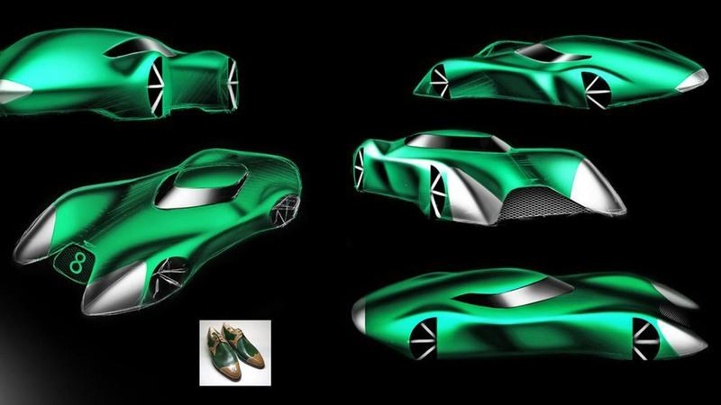 London's Top Design Students Showcase The Bentley of 2050 - image 801442