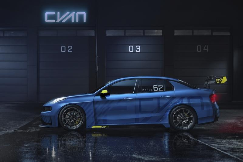 2018 Lynk & Co 03 TCR Road Car Concept by Cyan Racing - image 801175
