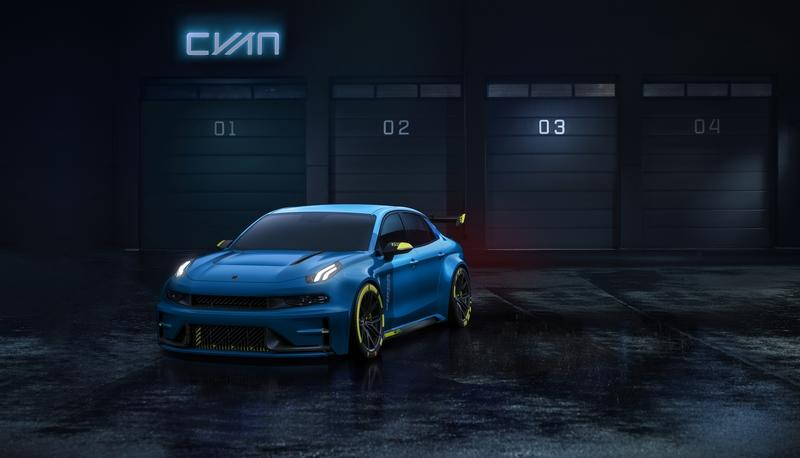 2018 Lynk & Co 03 TCR Road Car Concept by Cyan Racing