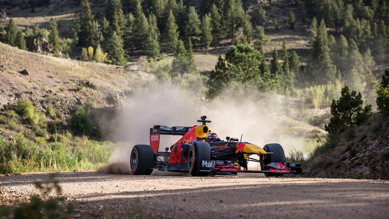Max Verstappen Road Trips His F1 Ride from the Rockies to Miami: Video