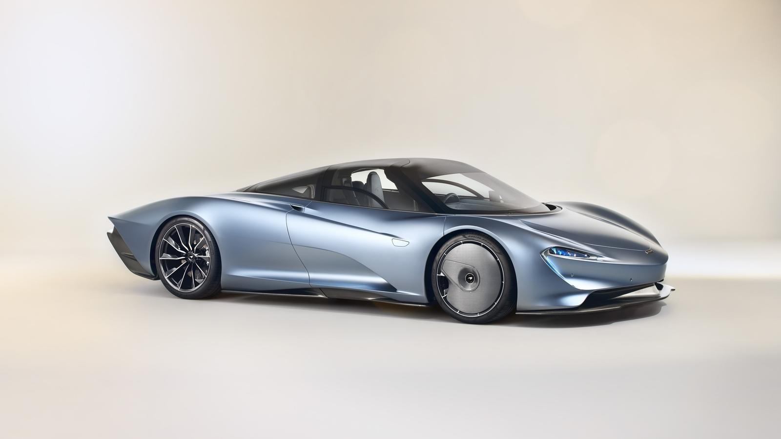 the mclaren speedtail sets a new company standard that