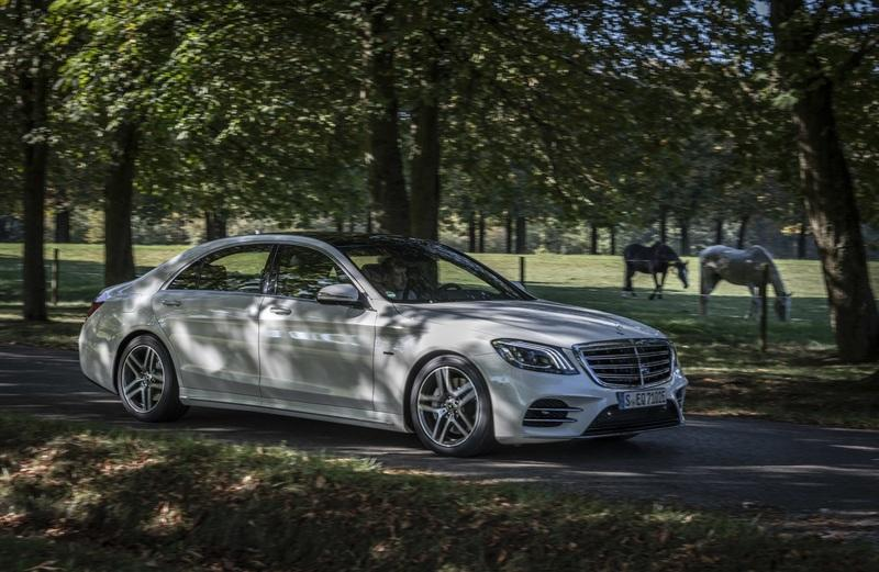 Mercedes Launches The S560e Plug-in Hybrid