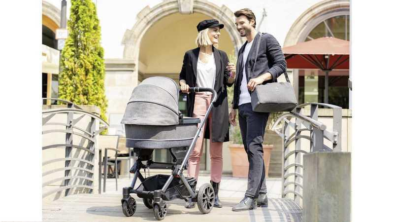 Mercedes Now Has a Baby Stroller and, Believe it or Not, It has Mini C-Class Wheels
