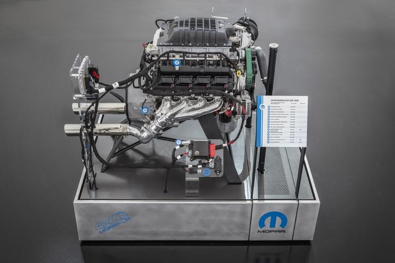 Mopar Drops 1,000-Horsepower Crate Engine Bombshell at SEMA 2018 - image 802788