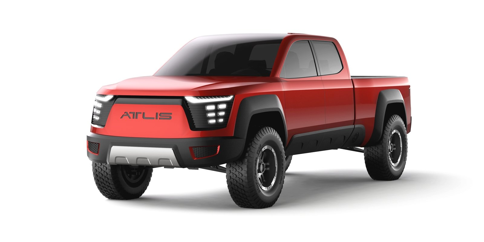 New Electric Pickup Truck From Atlis Motor Vehicles Will ...
