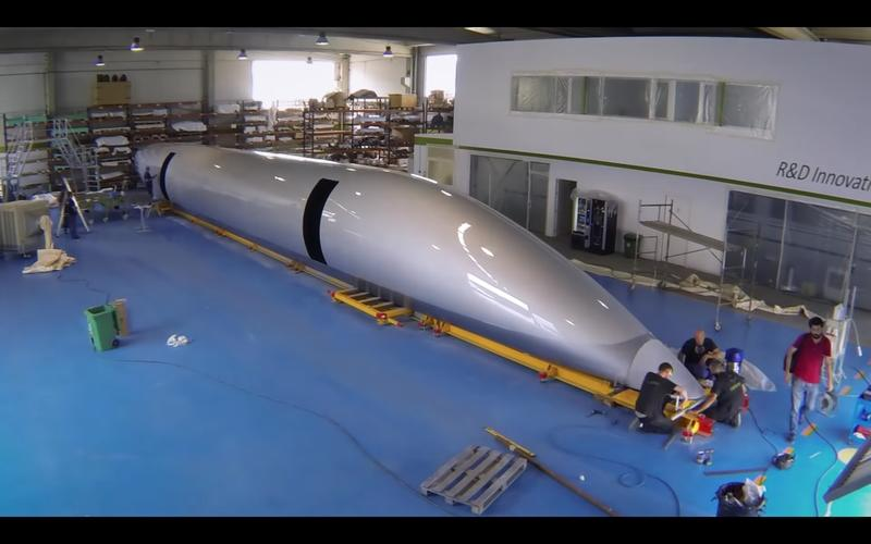 New Hyperloop Pod Unveiled, Could Go Into Service Next Year