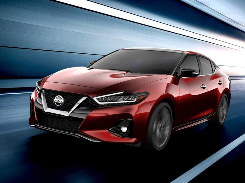 Nissan Teases the Refreshed 2019 Nissan Maxima; Will Debut at the Los Angeles Auto Show