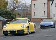 Porsche 911 992 caught testing next to the 991 - image 801608