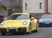 Porsche 911 992 caught testing next to the 991 - image 801660