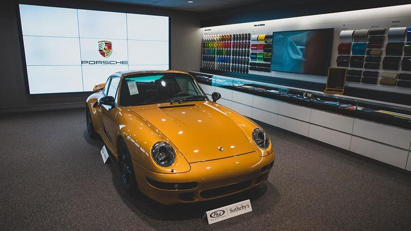 "Porsche Classic's ""Project Gold"" Brought in $3 Million at Auction - All For a Good Cause"