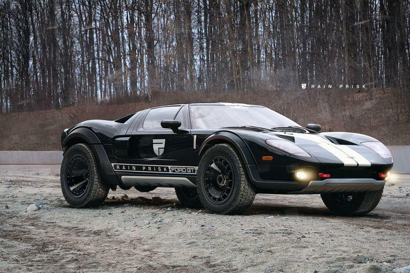 Raised Ford GT is another kind of Raptor