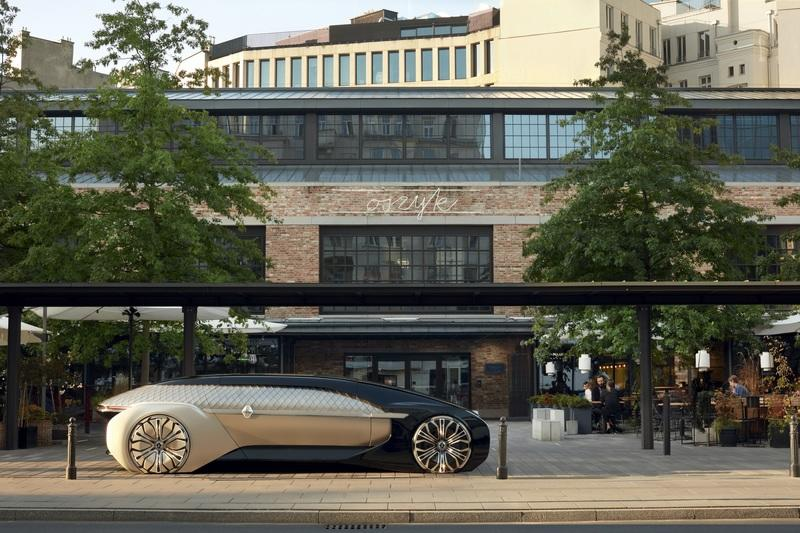 The Renault EZ-Ultimo Takes Another Futuristic Approach to Driverless Mobility