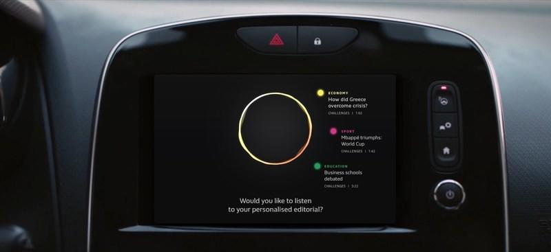 Renault Shows Off Futuristic AEX Infotainment in Paris