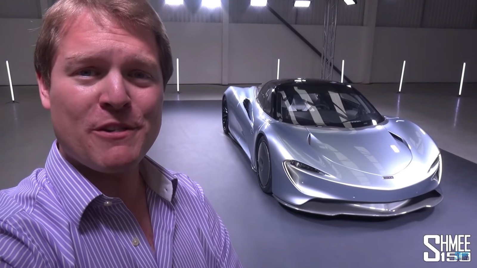 Top Fastest Cars >> Shmee150 Takes A First Look At The McLaren Speedtail | Top Speed