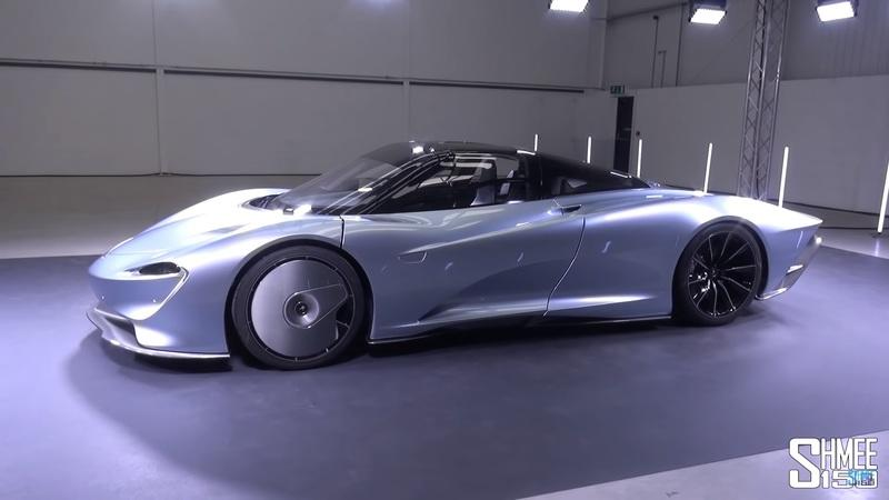 Shmee150 Takes a First Look at the McLaren Speedtail