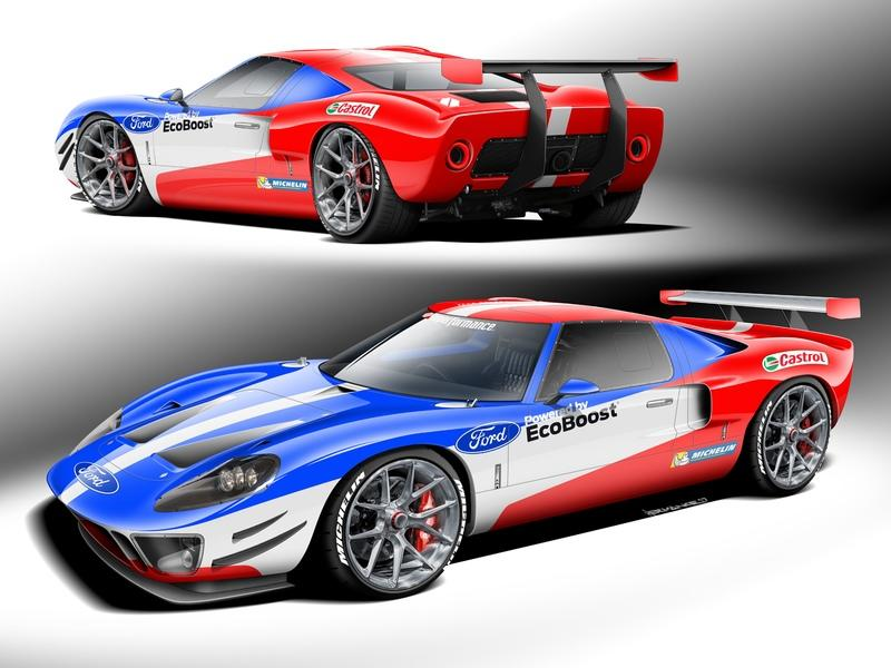 Superformance Has Crammed EcoBoost into a Ford GT40 MK1 for the SEMA Auto Show