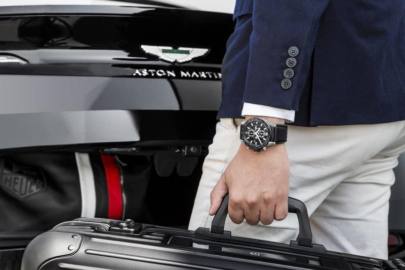 Tag Heuer and Aston Martin Team up to Create Another Watch and It's Gorgeous