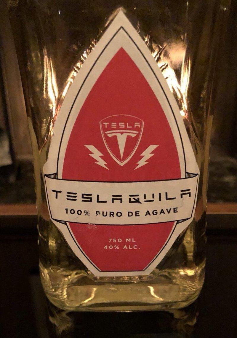 Tesla's Really Making Its Own Brand of Tequila