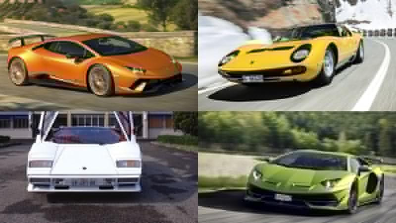 The 10 Best Lamborghinis Ever Built