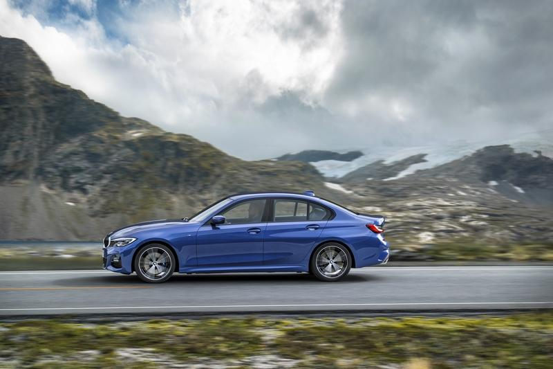 The 2019 BMW 3 Series Comes to Paris with a Lighter Footprint, Wider Track, and Longer Wheelbase