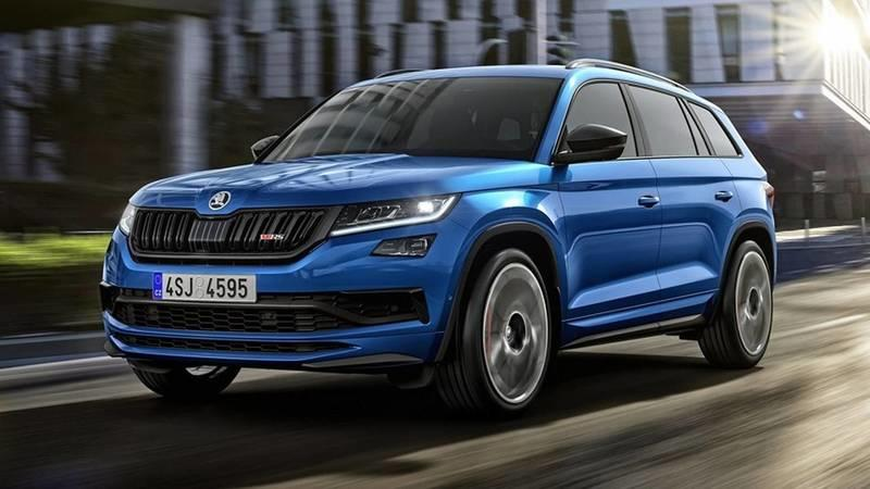 The 2019 Skoda Kodiaq RS has been Leaked just hours Before Paris Reveal